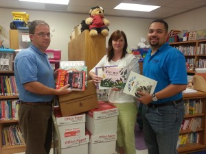 Rotary Club of Lillington donates 300 books to Parents as Teachers